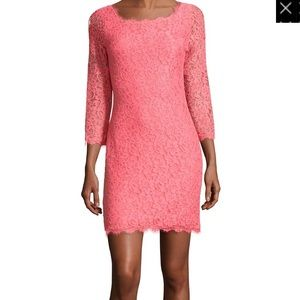"""Diane von Furstenberg """"Zarita"""" lace dress"""